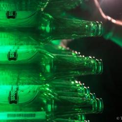 """""""Wall of Heineken"""" (Mur d'Heineken, © T. Baelen, tous droits réservés)"""