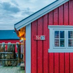 Un soir en Norvège (© Laurie Salle, tous droits réservés)